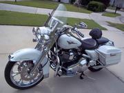 2005 - Harley-davidson Road King Glacier Pearl White