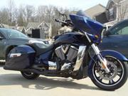 2012 Victory Cross Country Custom Imperial Blue